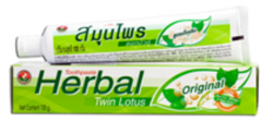 Зубная паста «Twin Lotus Herbal Original» — Оригинальная
